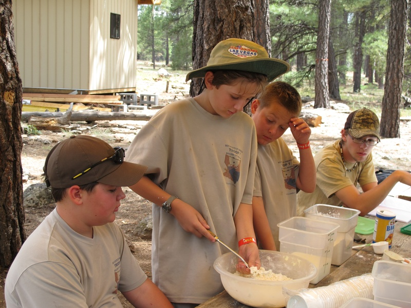 Cooking merit badge