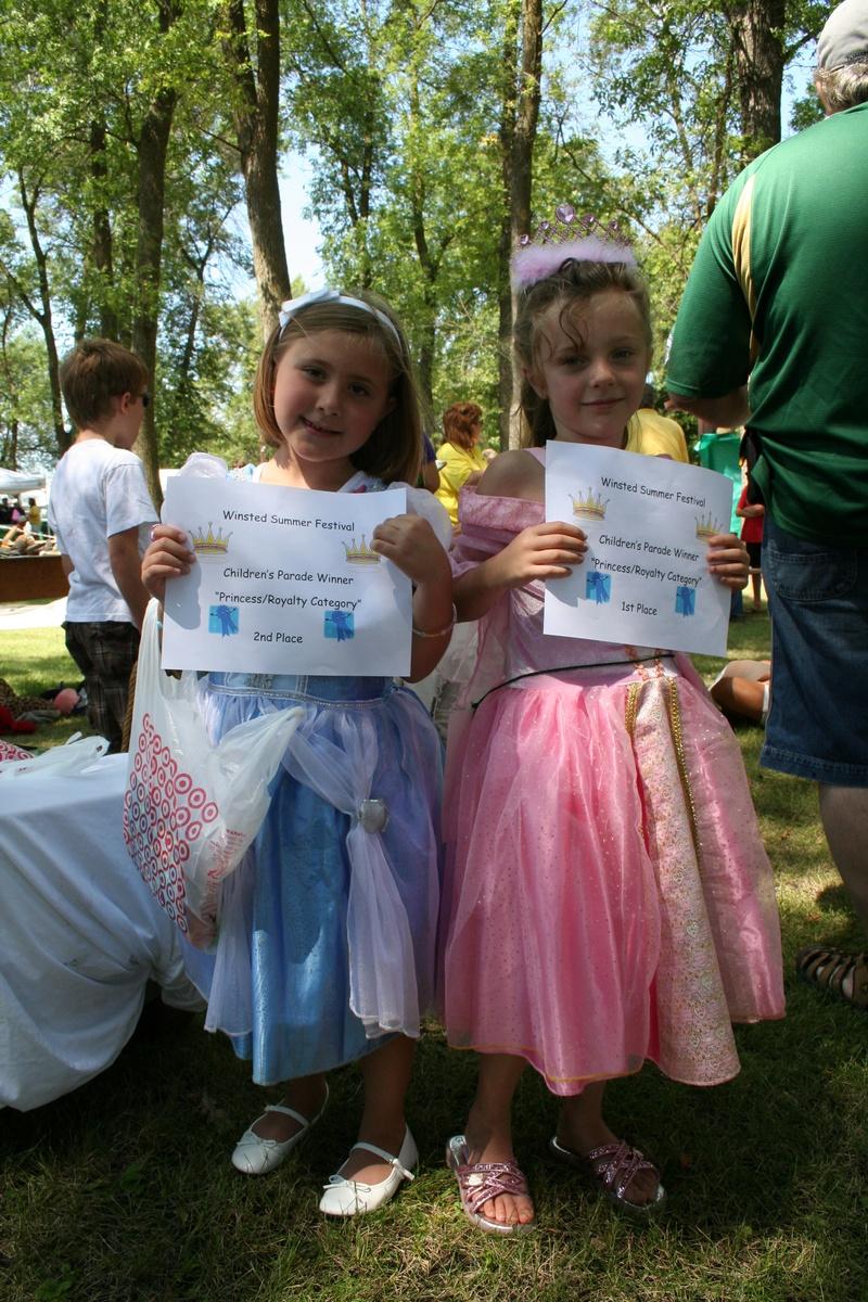 Kiddie Parade winners