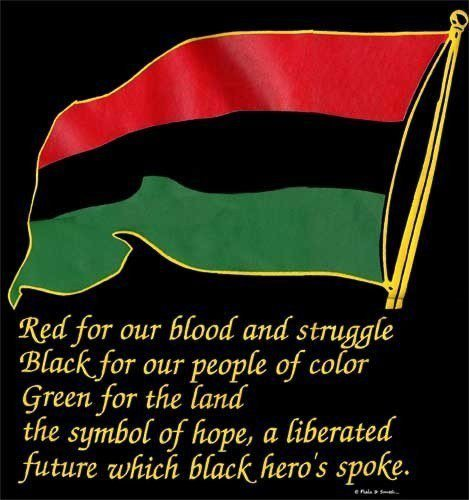 things about black liberation flag know