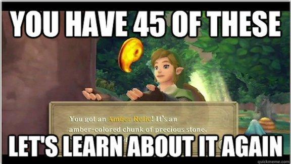 Zelda Flaws: Skyward Sword