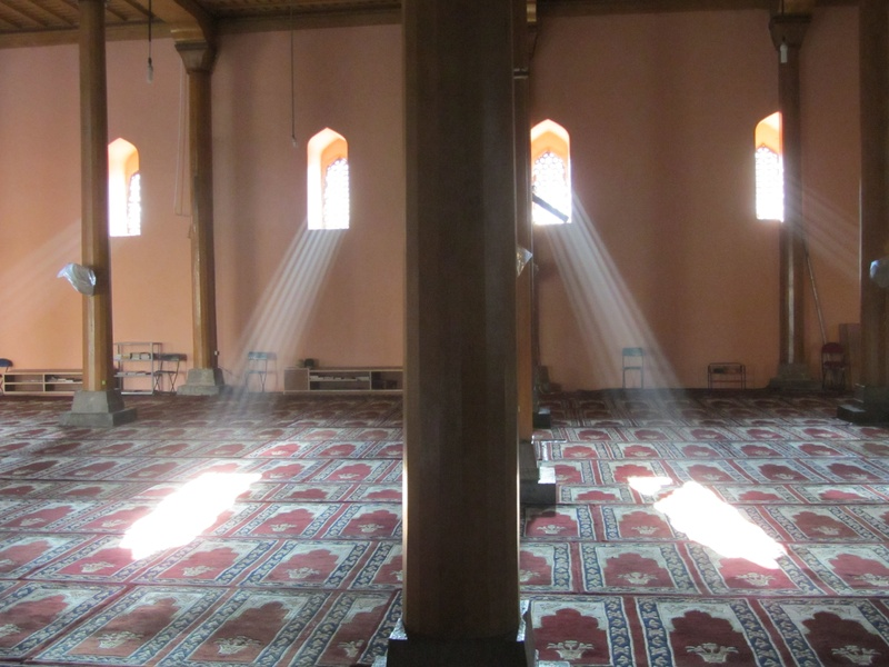 afternoon light at Jamma Masjid