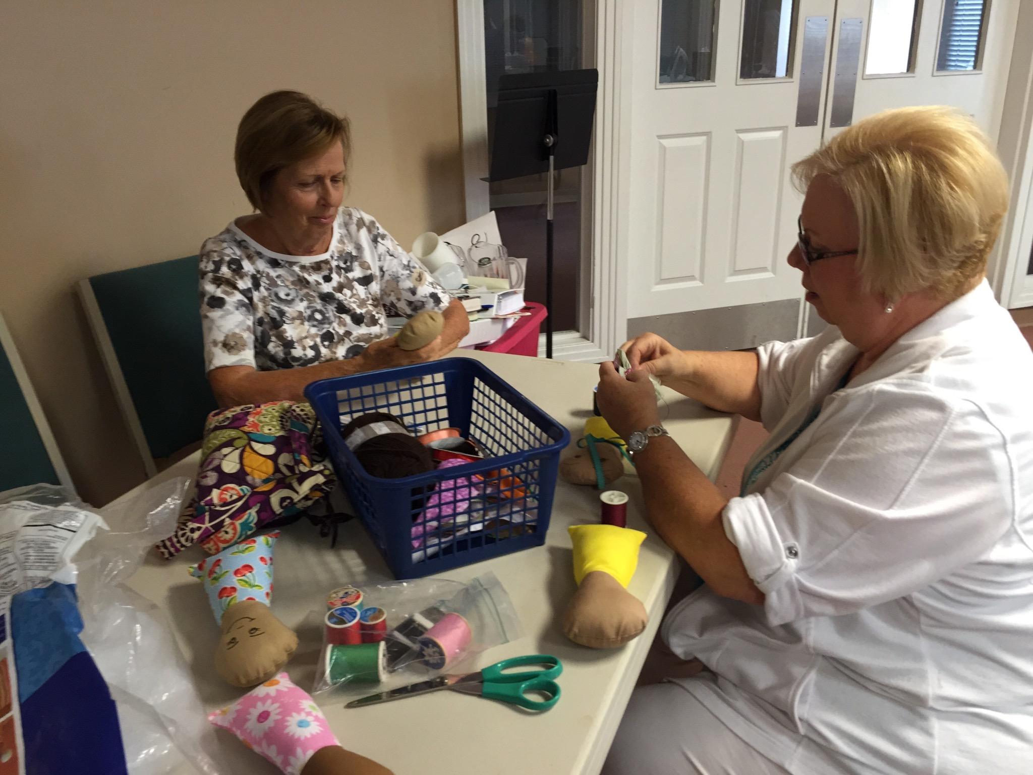 Making dolls for pockets