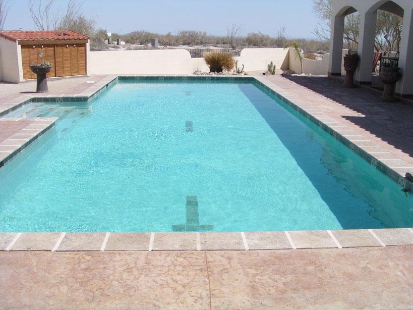Pool added July 2009