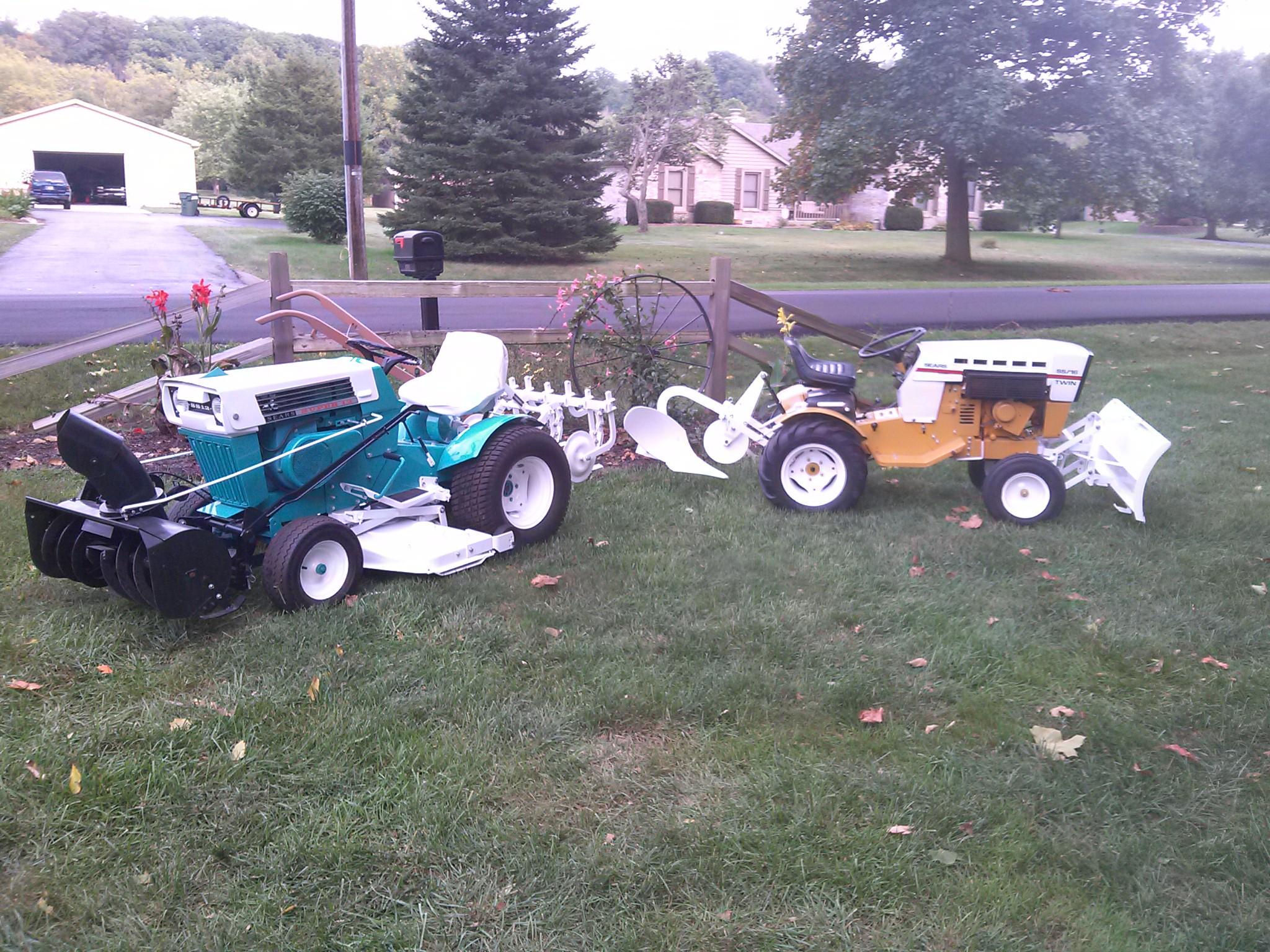 Ss16 Sears Garden Tractor : Super  ss