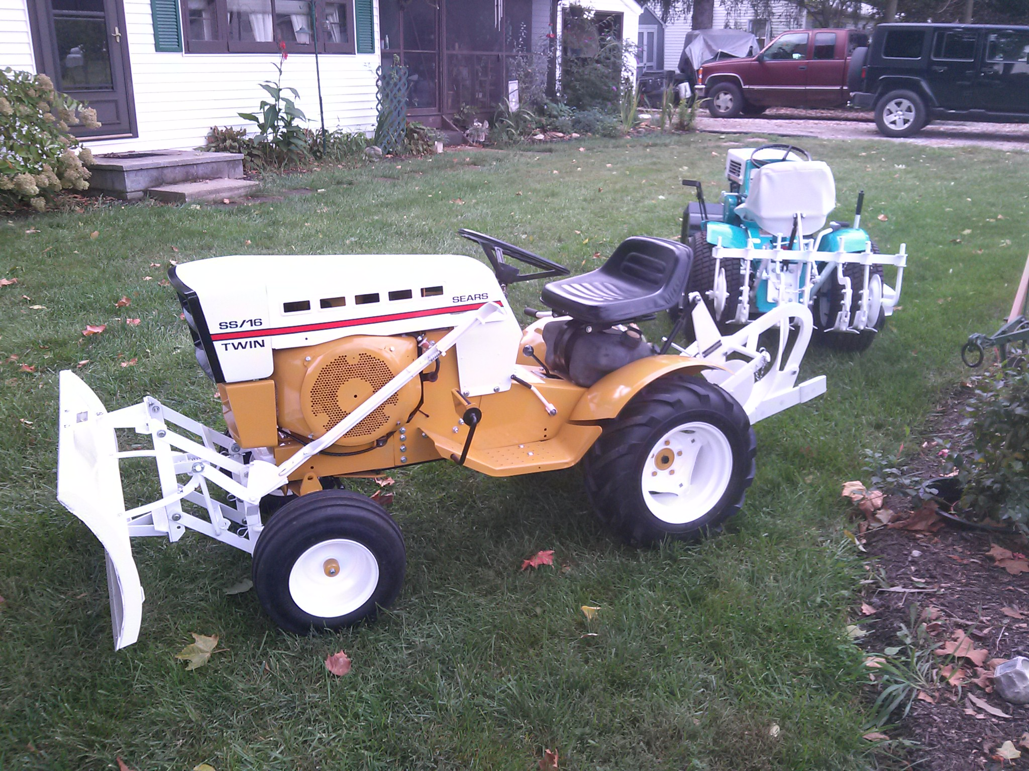 Ss16 Sears Garden Tractor : Ss