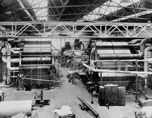 Alders Paper Mill Interior.
