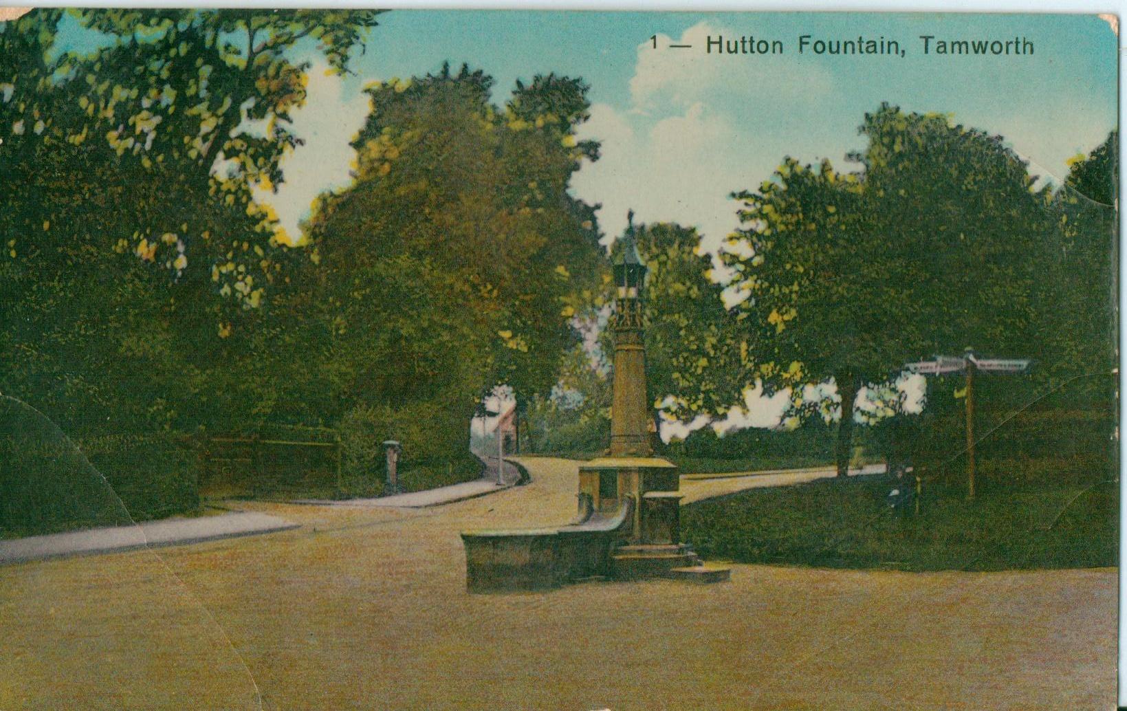 Hutton Fountain.