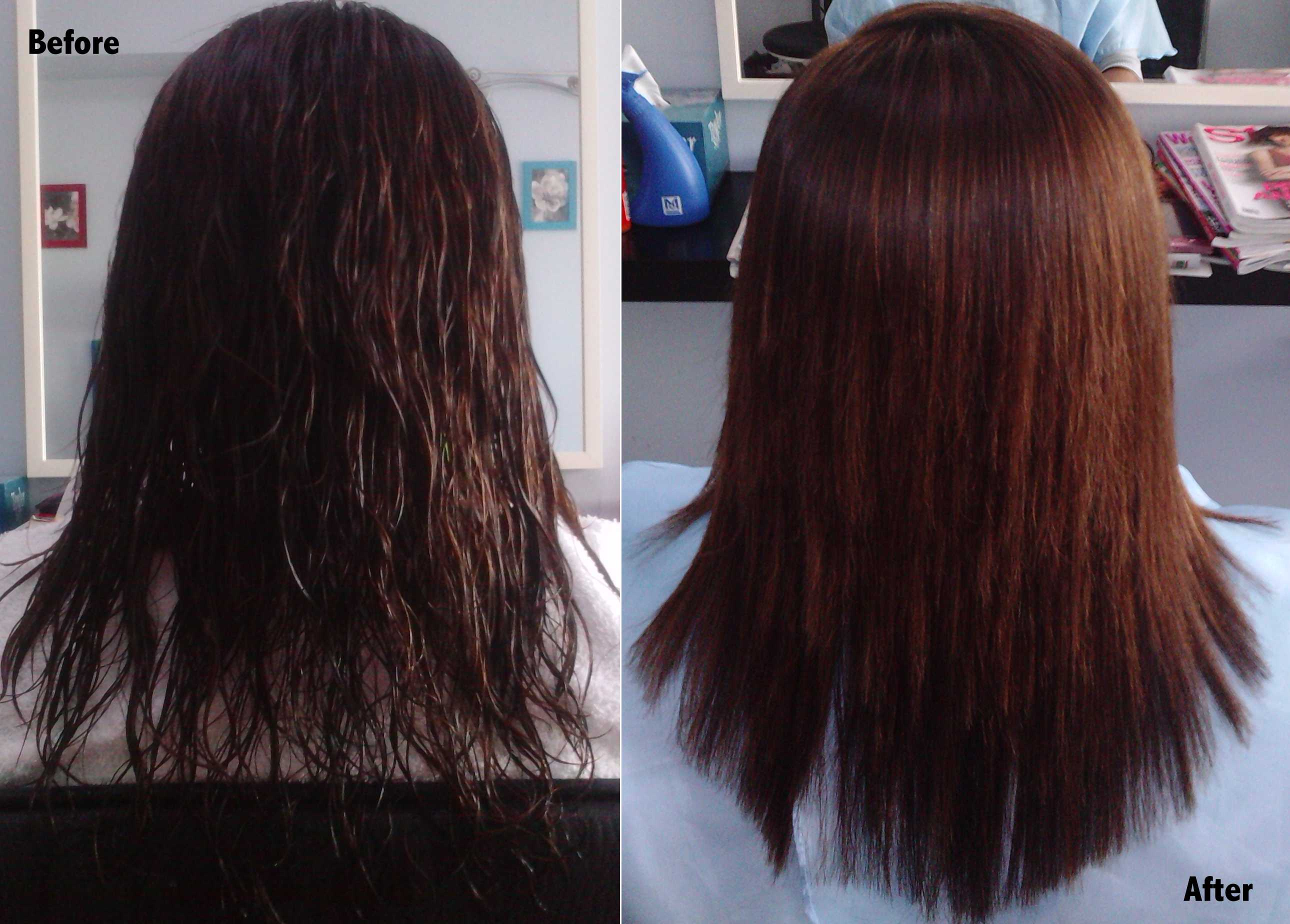 After Rebonding Hair Frizzy Rebounding Hair Image