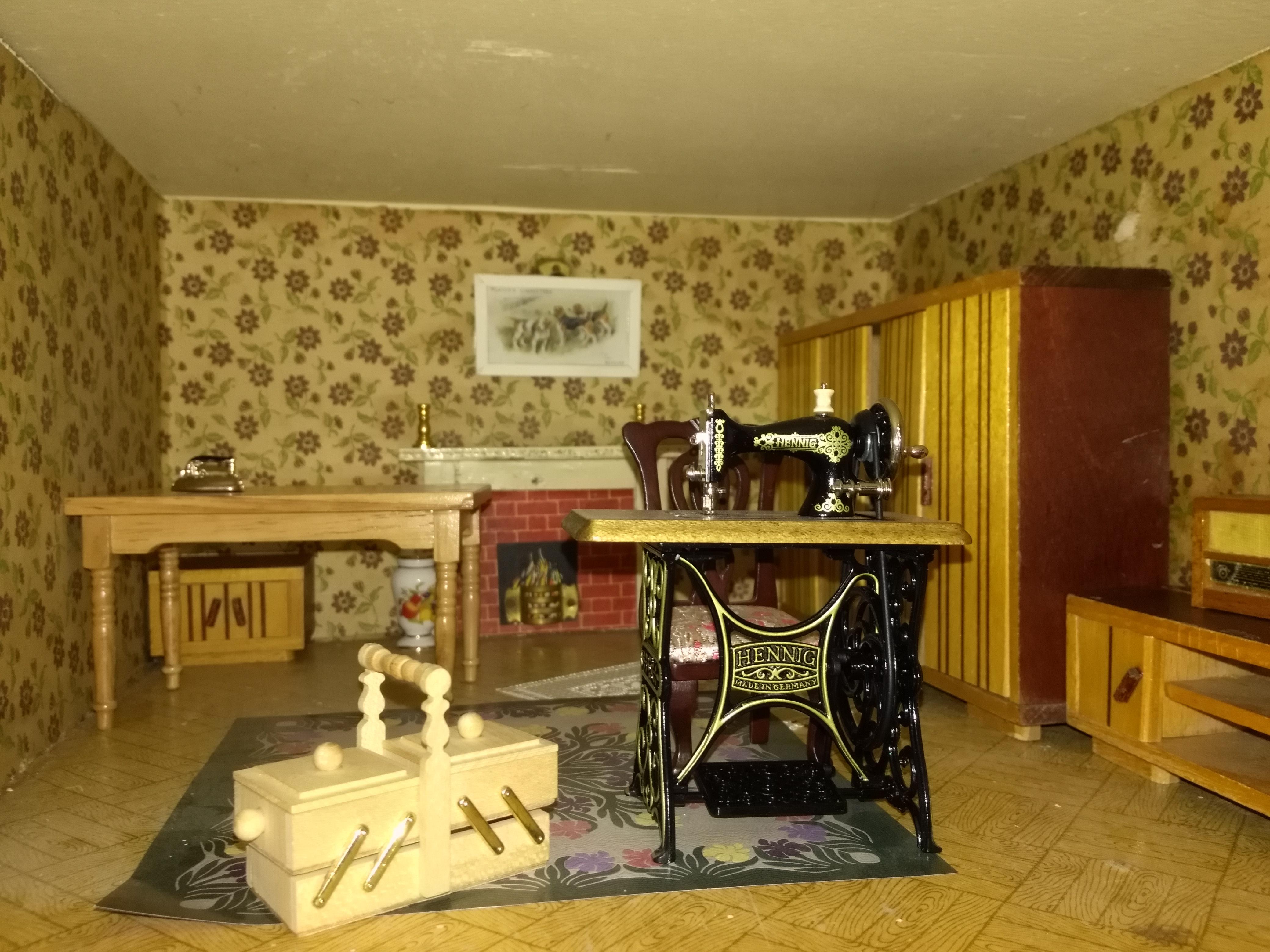 Grandmas sewing room
