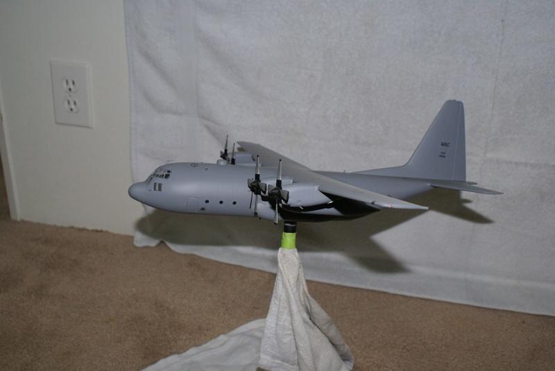 C-130E model Hercules