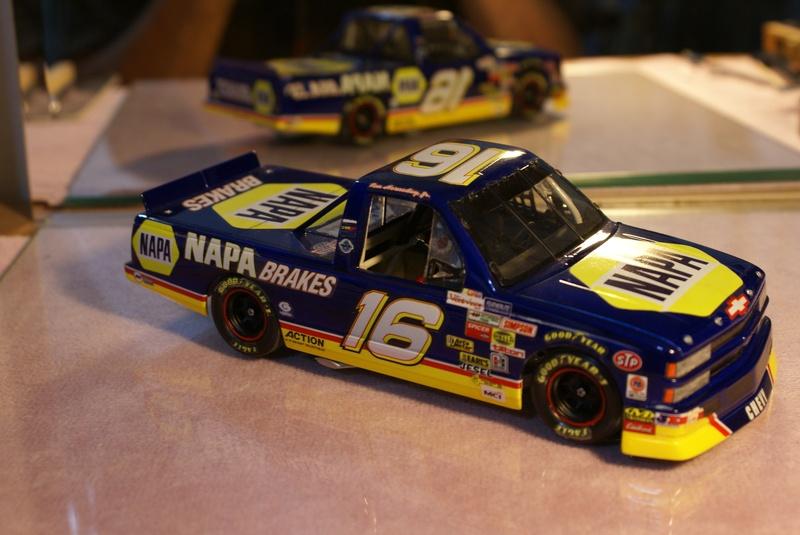 #16 NAPA Chevy