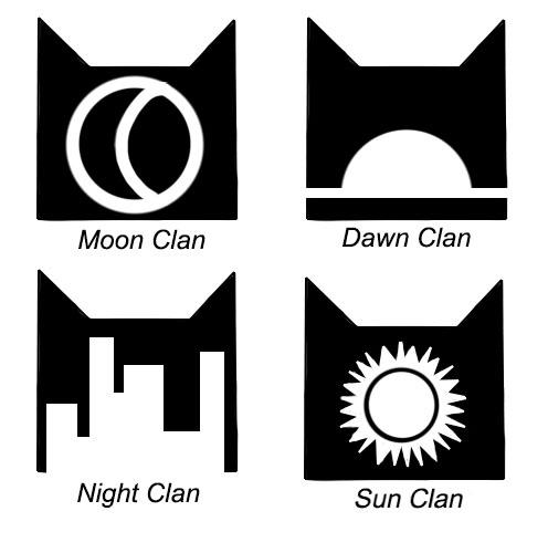 Warrior Cats New Clan Symbols Best Cat Wallpaper 2018