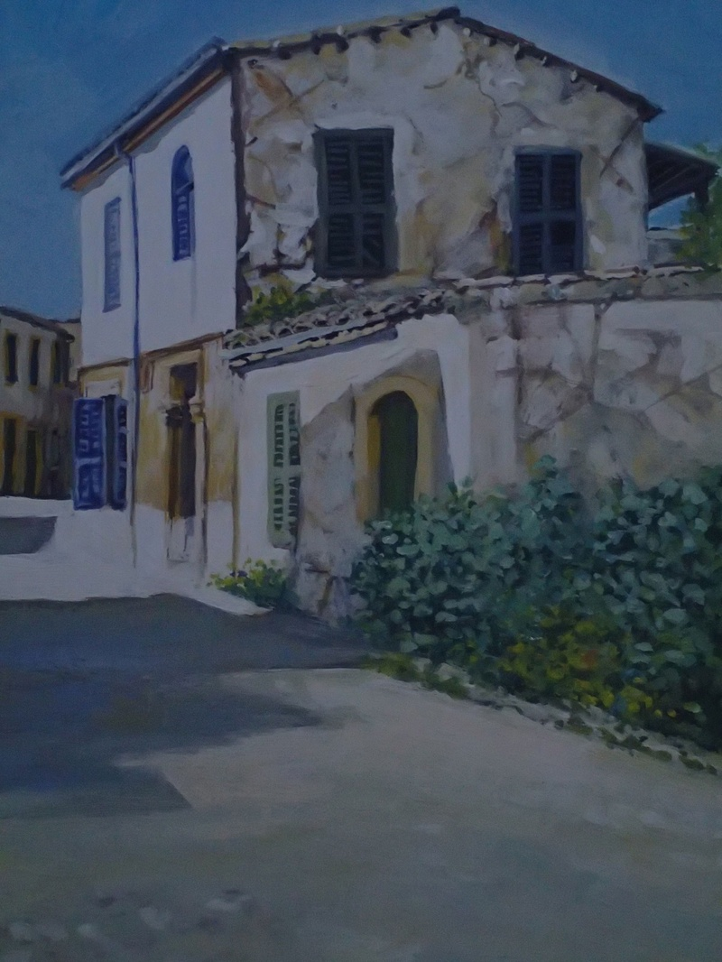 Old Nicosia - Painting