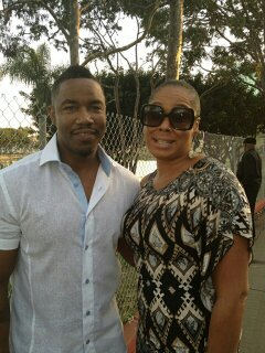 Michael Jai White and Angela Michelle