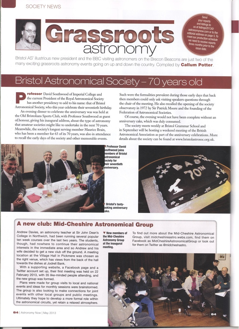 Astronomy Now Mag May 2013