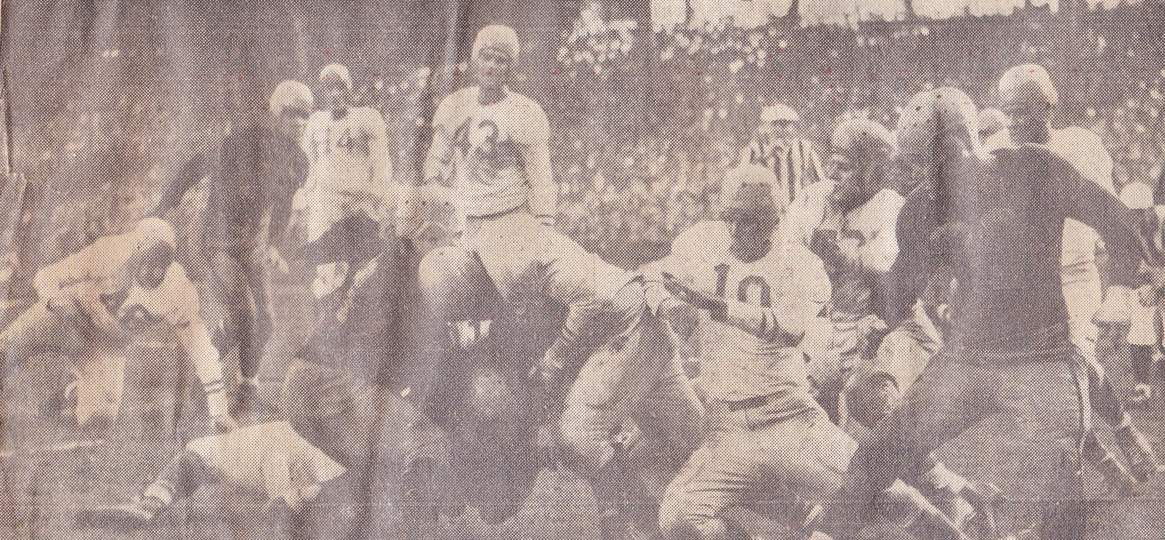 1946 Yanks vs Steelers