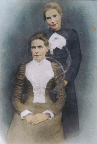 Margaret nee Mooty Weadick  and her sister Mary Mooty, Arklow