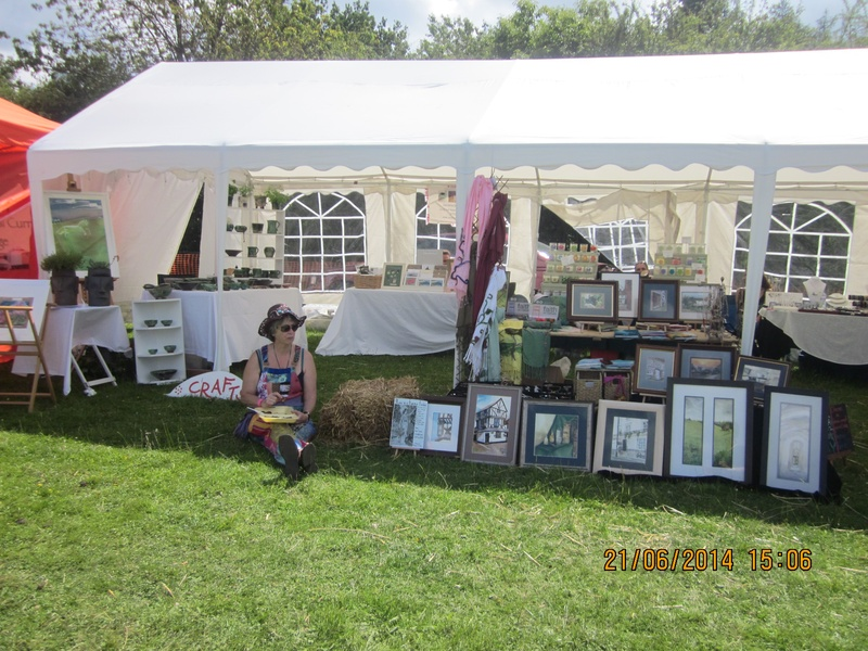 Woolderness craft stall plus watercolours