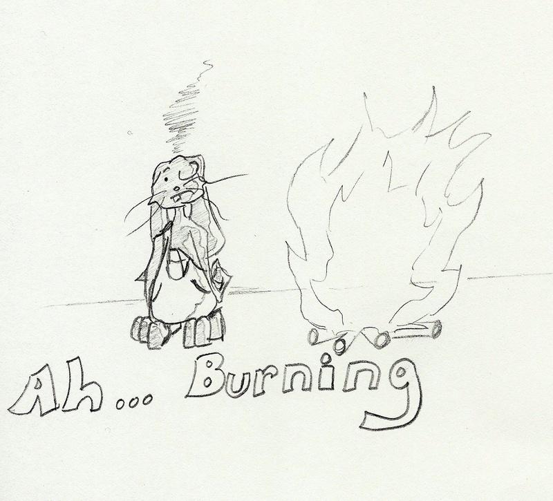 Ah.... Burning