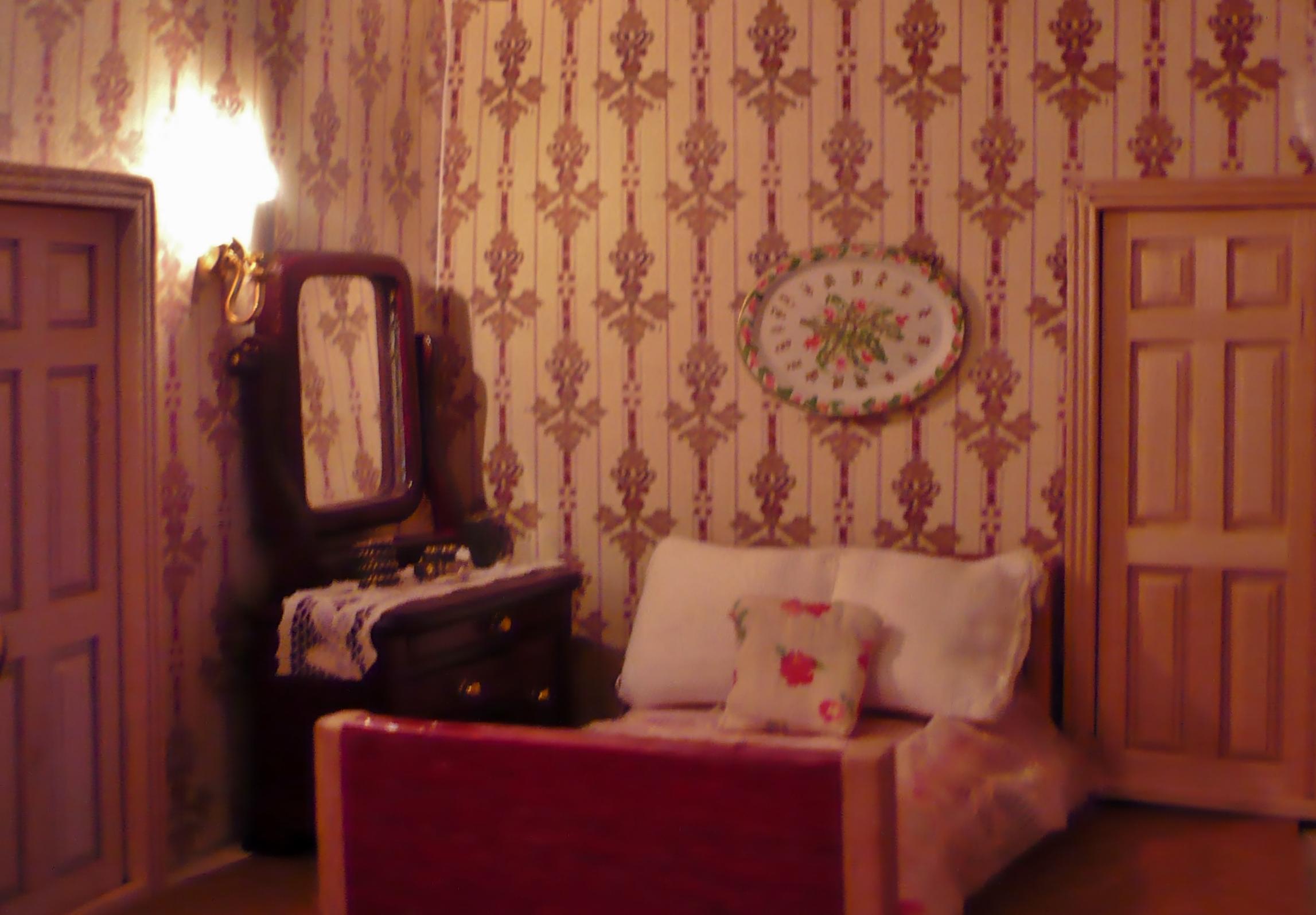 Small tiny bedroom