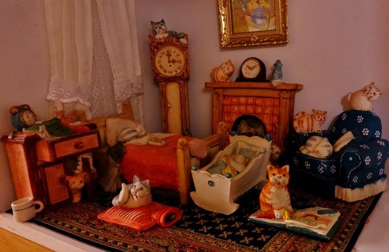 Peter Fagan's Colour Box Cats