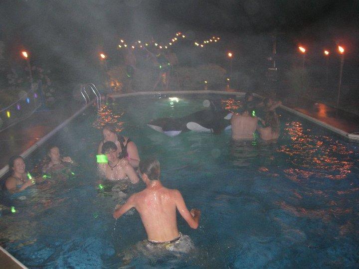 Pool party manifestation?