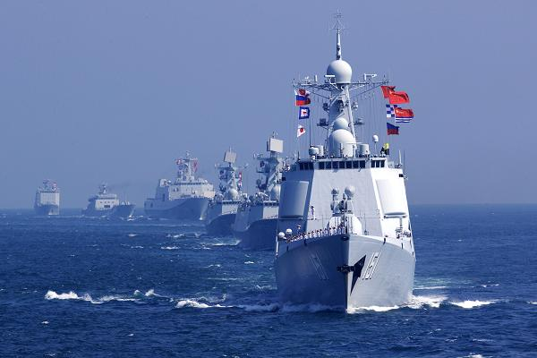 China-Russia naval joint drill