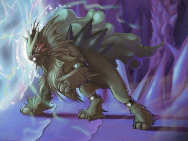 Pokemon is awesome! Look how awesome it is! Entei