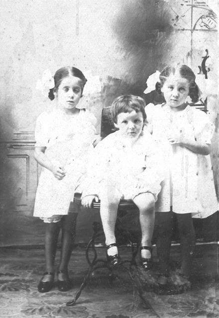 Pearl, Eddie and Ruby LaGarde