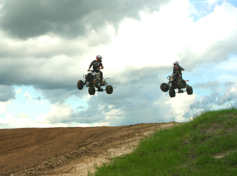 Nick and Jason getting some air