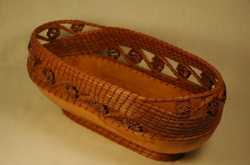 Black Walnut Bread Basket