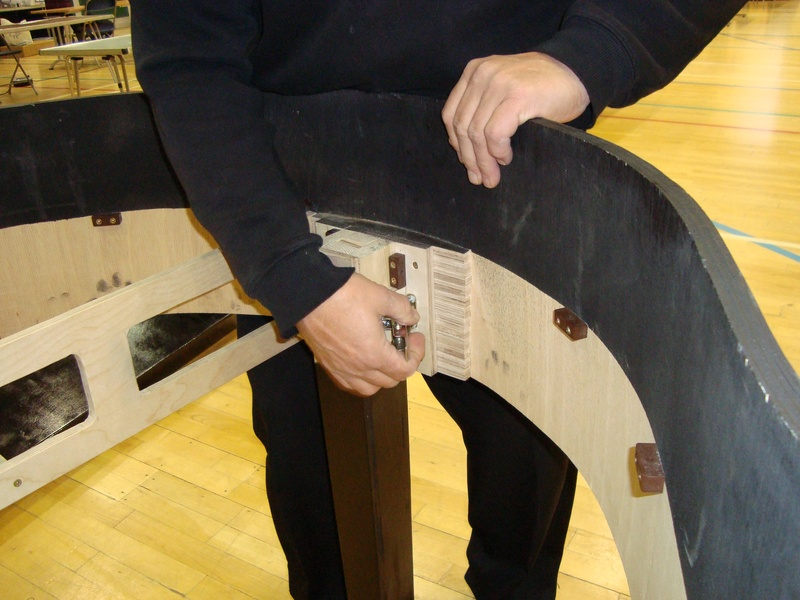 Adding the back leg
