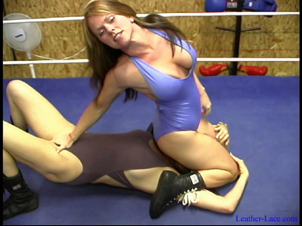 Big Women Mixed Wrestling