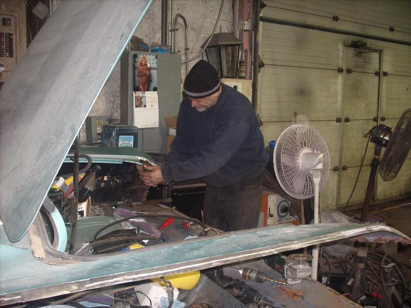 b k on the metal work