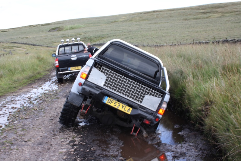 Whoops!  L200 Mistakes Ditch for a Puddle